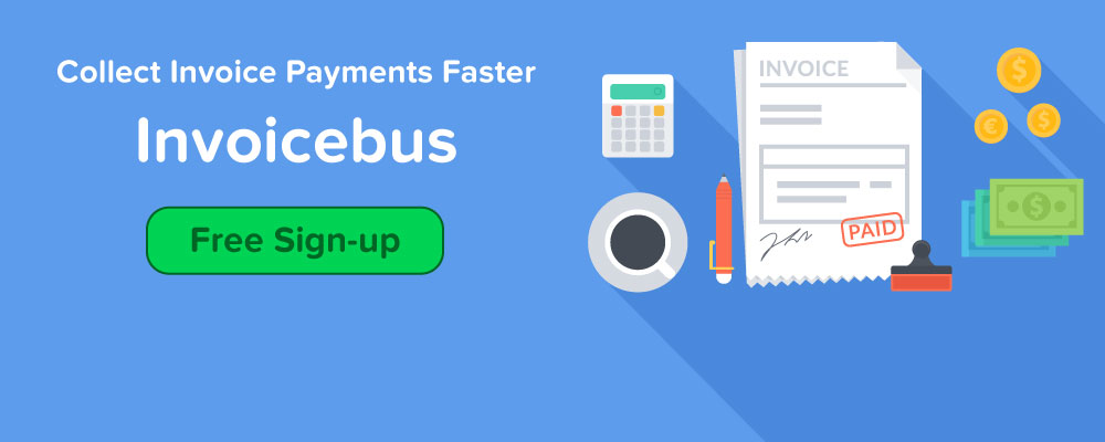 Free sign-up for Invoicebus