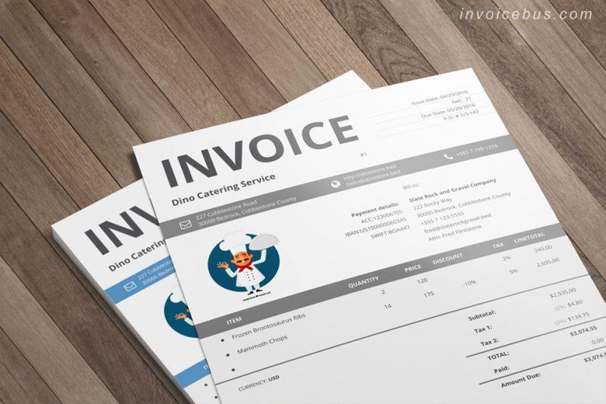 13 original invoice templates for aspiring entrepreneurs invoicebus blog. Black Bedroom Furniture Sets. Home Design Ideas