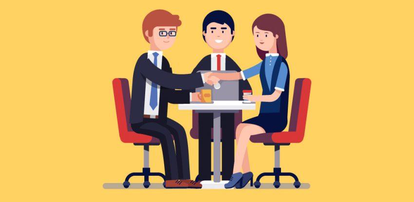 Hiring process job interview