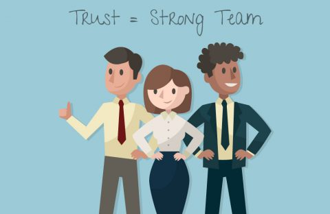 Building trust strong team