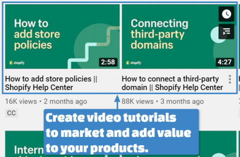 Video Content Ideas for better e-commerce marketing