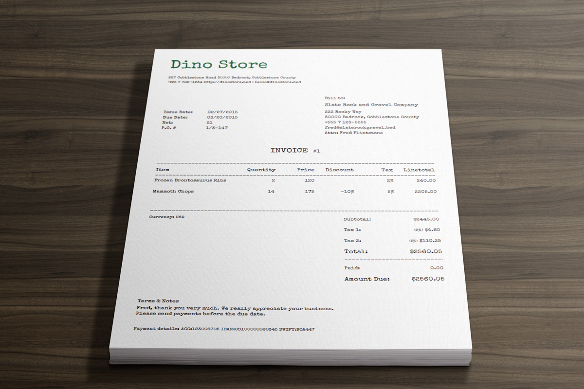 how to write invoices the right way