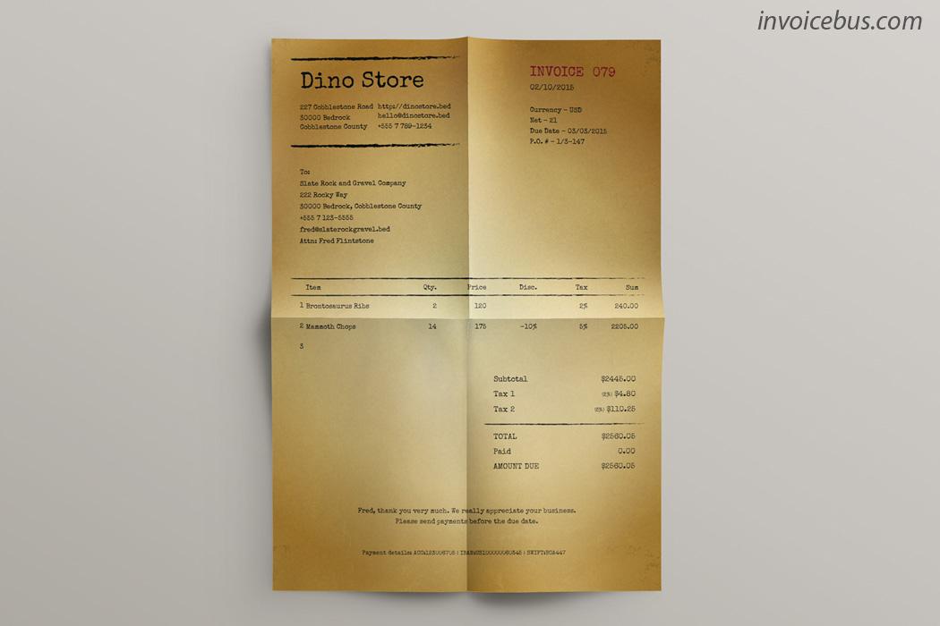 Tour Online Invoicing For Creative Professionals Invoicebus - Create invoice free vintage online stores