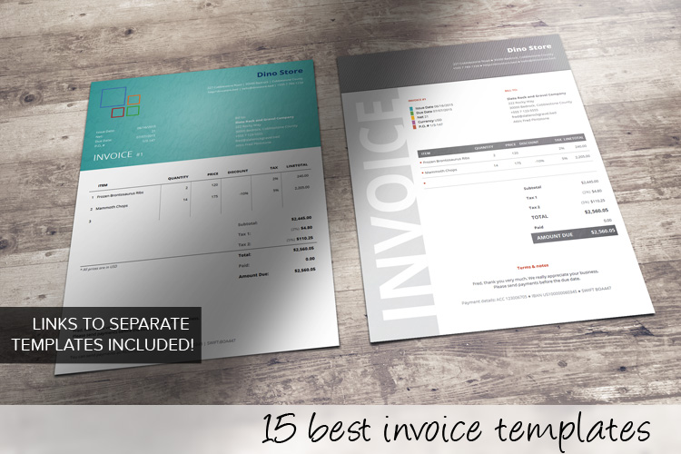 15 Best Invoice Templates