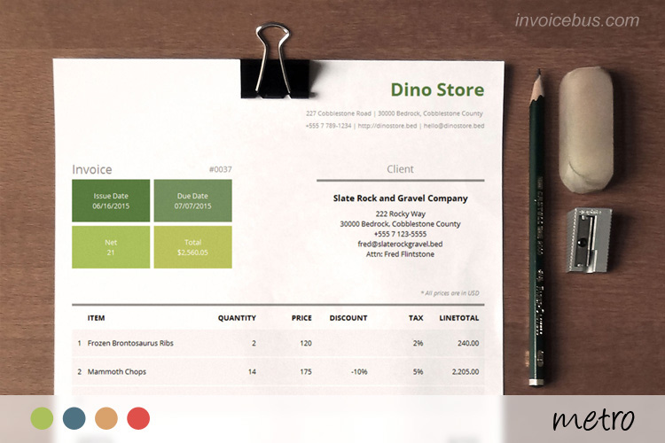 Best Invoice Templates - Simple invoice template word doc cricket store online