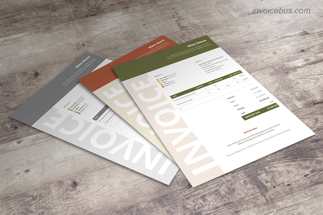 Best Invoice Templates Niana
