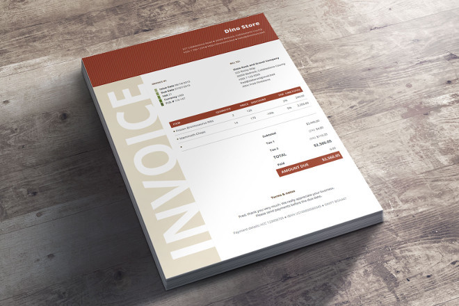 Bundle Business invoice Template Niana
