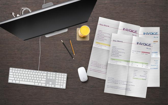 Bundle Designer Handwritten Invoice Template Mo