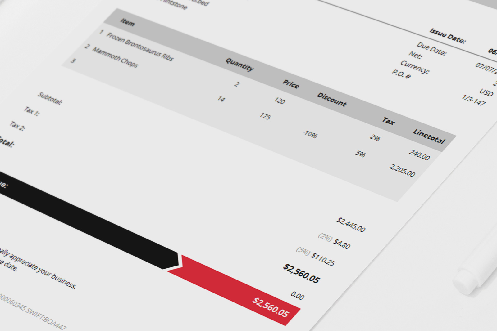 High Quality ... And Armo Is An Easy To Use Invoice Template With Elegant, Simple, And Idea Beautiful Invoices