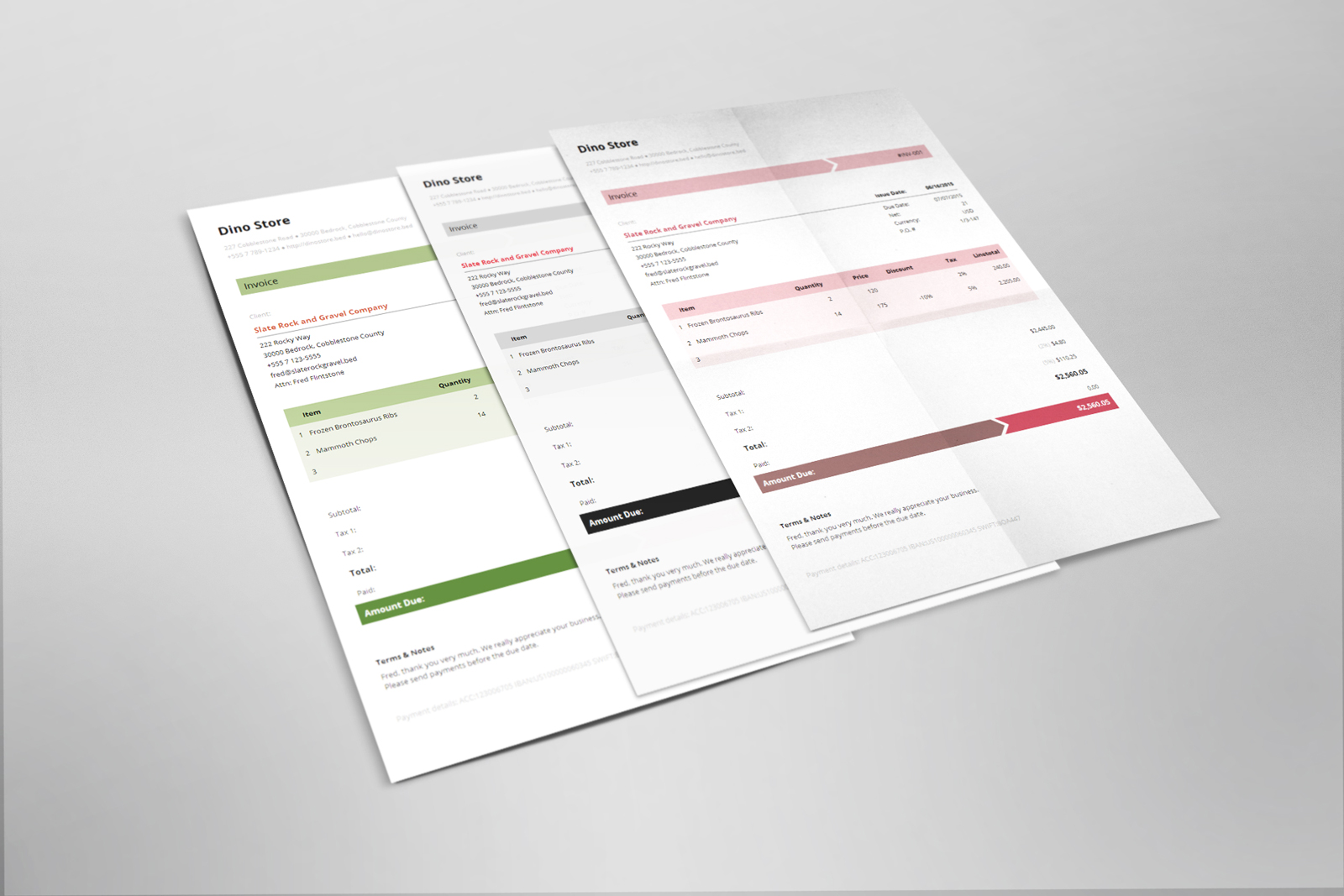 Armo is an easy-to-use invoice template with elegant, simple, and sharp business look. There is a strong focus on usability, so all information are wrapped up in a sophisticated, trustworthy and beautiful design that perfectly combines form and function.