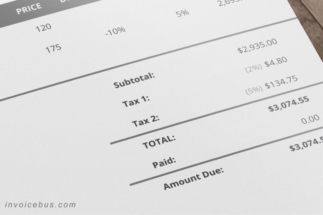 how to draw up an invoice