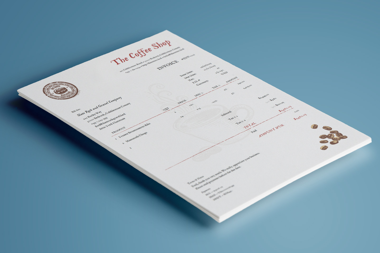 beautiful invoice design beautiful invoice design