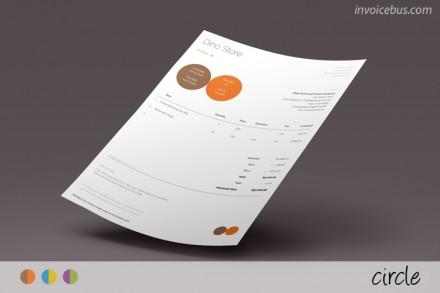 Proforma invoice template Circle 0